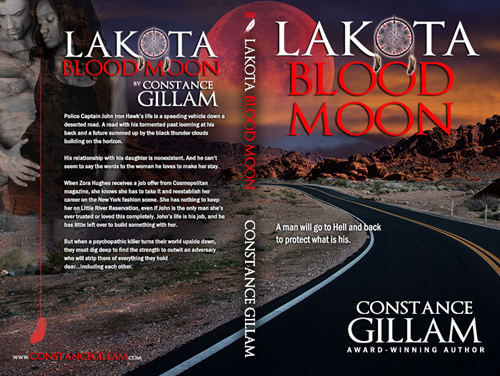 Lakota Blood Moon  -- Constance Gillam